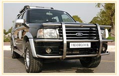 Hire Ford Endeavour